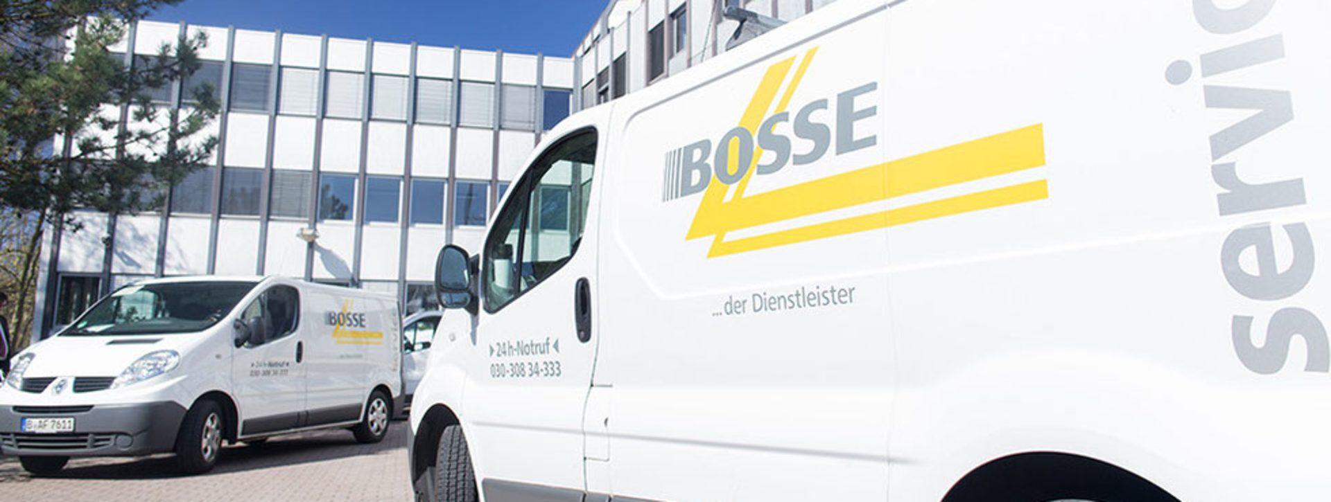 Firmenwagen von der Bosse Facility Service GmbH
